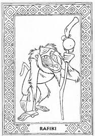 lion king coloring pages the sun flower pages