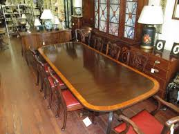 Antique Dining Room Table Styles Antique English Mahogany Satinwood Crossbranded Sheraton Style 2