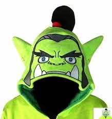 Warcraft Halloween Costume Thrall Cosplay Costume Boys Wow Warcraft Fleece
