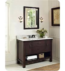 Open Shelf Bathroom Vanity Fairmont Designs 1506 Vh48 Napa 48 Open Shelf Modern Bathroom