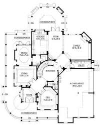 first floor plan of traditional house plan 67457 house plans