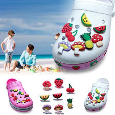 high quality 40pcs fruit shoe charms shoe accessories shoe