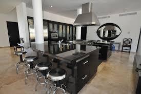 cocina lujosa simple negra cocinas modernas pinterest black