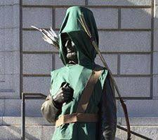 Halloween Statue Costume York Historical Society