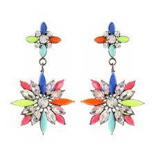 Gunmetal Chandelier Earrings Earrings Shop Amrita Singh Jewelry