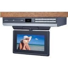 Under Kitchen Cabinet Tv Under Cabinet Kitchen Tvs Audiovox Ve727 7 Inch Lcd Drop Down
