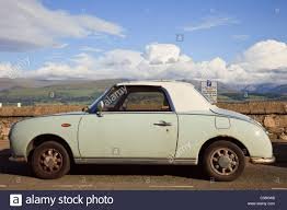 nissan figaro interior nissan car retro stock photos u0026 nissan car retro stock images alamy