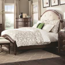 King Platform Bed With Upholstered Headboard by Buy Sherwood King Bed With Upholstered Headboard By Coaster From