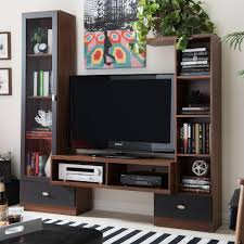 Contemporary Tv Cabinets For Flat Screens Modern Tv Stands Living Room Furniture The Home Depot