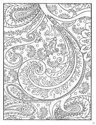 dover paisley designs coloring book monochrome motifs patterns