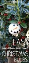 easy snowman christmas bulbs wait til your father gets home