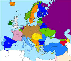 World War 1 Map Of Europe by Another Alternate Europe Alternate History Discussion