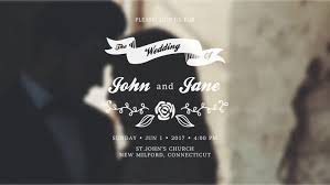 membuat video wedding invitation wedding invitations after effects templates motion array