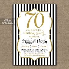 free printable 70th birthday invitations image collections