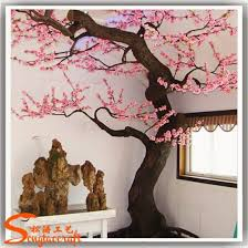 china outdoor or indoor decorative pink artificial cherry blossom