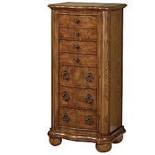 jewelry armoire oak finish jewelry armoire in light oak finish