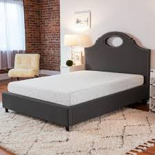 Bed Frame For Memory Foam Mattress Linenspa 8 In Twin Memory Foam And Innerspring Hybrid Mattress