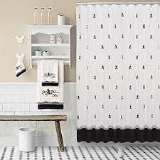 Black White Shower Curtain Vintage Black And White Mickey Mouse Shower Curtain Shop Home