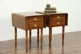 antique nightstands and bedside tables nightstands bedside tables harp gallery antique furniture