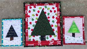 tiny tree and teeny trees occasionalpiece quilt