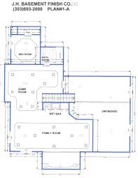 Walk Out Basement Floor Plans Image Of Finished Basement Floor Plans Ideas Plansbasement