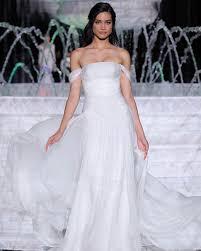 wedding dress the shoulder pronovias 2018 wedding dress collection martha stewart