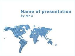 worldmap powerpoint templates