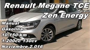 renault megane tce zen energy manual gasolina 10 150km 130cv en