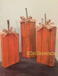 halloween wood blocks primitive wooden pumpkins fall decor pumpkin blocks tall wood