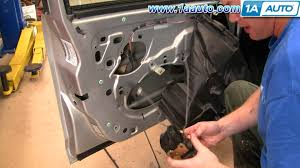 how to install replace door lock actuator dodge stratus 01 06