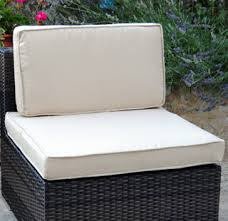 coussin pour canapé de jardin coussins d assise et de dossier pr salon jardin modulable siena