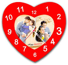 Personalized Clocks With Pictures Buy Or Send Personalized Photo With Clock 9 Inch X 6 Inch Online