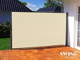 seitenmarkise balkon de seitenmarkise sichtschutz aluminium seitenrollo markise