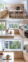 in this kitchen a large window provides lots of natural light to