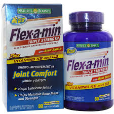 Joint Comfort Dietary Supplement Nature U0027s Bounty Flex A Min Triple Strength With Bone Shield 80