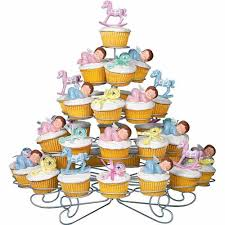 baby shower cupcakes wilton