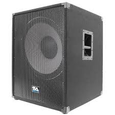 empty 15 inch speaker cabinets 18 inch subwoofer bass cabinet 1000 watts rms 18 inch sub cab