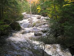 New Hampshire rivers images Swollen brooks streams and rivers of the white mountains in new jpg