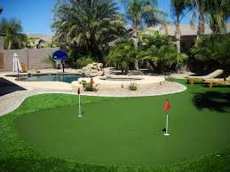 Putting Green In Backyard chandler house with backyard resort puttin vrbo