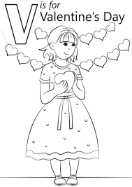 valentine u0027s coloring free printable coloring pages