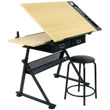 Large Drafting Table Hartleys Drawing Table With 2 Drawers Drafting Bench Artists