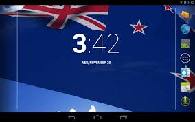 Nee Zealand Flag 3d New Zealand Flag Lwp Android Apps On Google Play