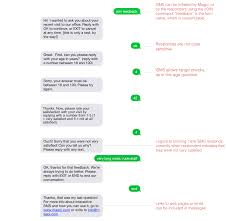 Conversational Text Messaging Solutions - sms data collection magpi support