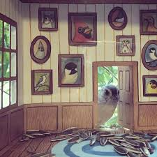 bird houses woman decorates beautiful home interiors for the