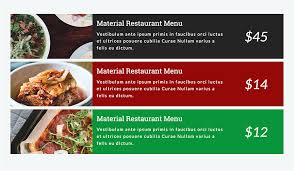 cuisine a composer restaurant food menus for wpbakery page builder visual composer by