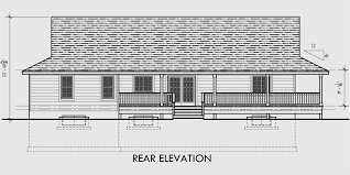 Country Home Plans With Pictures One Level House Plans House Plans With Basements