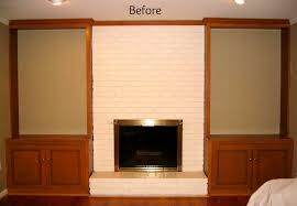 43 low bookcases fireplace recessed lighting yellow wall low