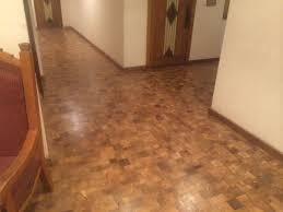 Commercial Wood Flooring Solid Parquet Flooring Glued Commercial Tile Mesquite