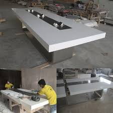 Cool Meeting Table Custom Designer Eastern Cool Solid Surface