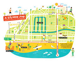 Venice Florida Map by I Draw Maps